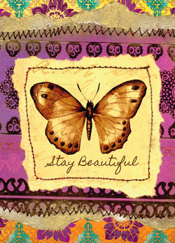 Single Cards: Butterfly Beautiful (6 Pack)