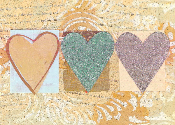 Divinity Boutique Single Cards: Triple Hearts (6 Pack)