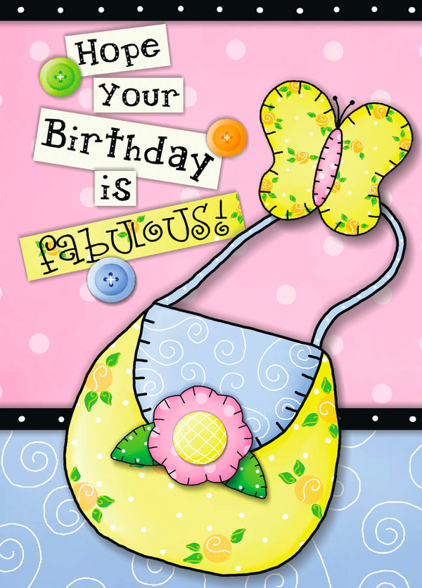 Single Cards: Hope Your Birthday Is Fabulous (6 Pack)