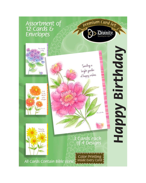 Divinity Boutique Boxed Cards: Birthday