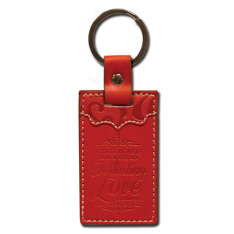 Divine Details: Keychain Red Everlasting Love