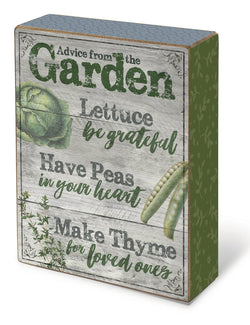 Oak Patch Gifts In the Garden: Blox-Advice from the Garden