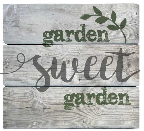 Oak Patch Gifts In the Garden: Pallet Art-Garden Sweet Garden