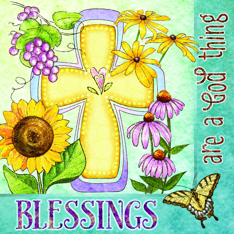 Divinity Boutique Napkin: Blessings Are A God Thing