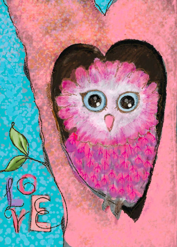 Divinity Boutique Single Cards: Thank You Love Owl (6 Pack)