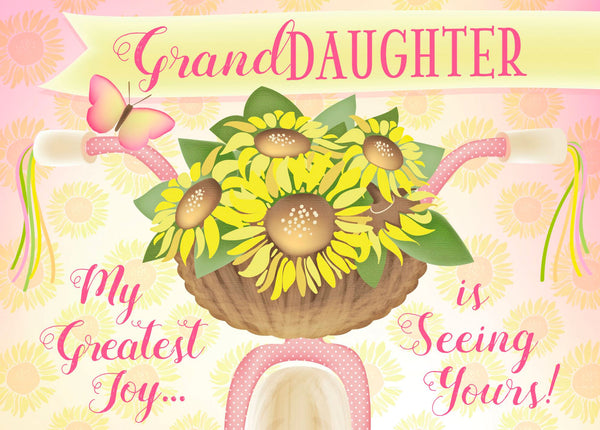 Divinity Boutique Single Cards: Thinking Of You Granddaughter (6 Pack)