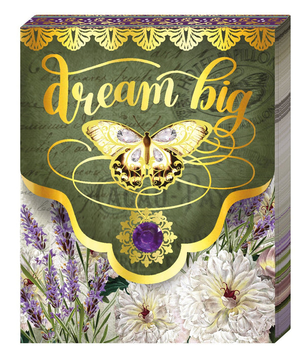 Oak Patch Gifts Purse Pad: Butterfly Dream Big