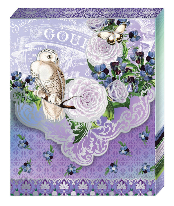 Oak Patch Gifts Purse Pad: White Owl