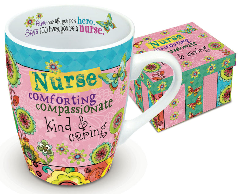 Hearts 'N Hugs: Boxed Mug, Nurse