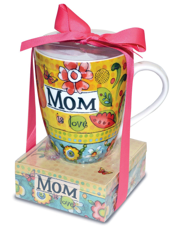 Oak Patch Gifts Relationship Mug & Notepad Giftset: Mom