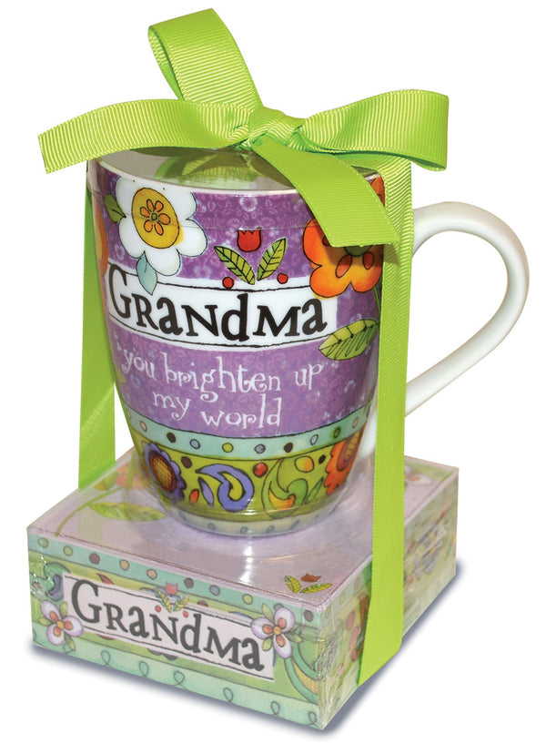 Oak Patch Gifts Relationship Mug & Notepad Giftset: Grandma