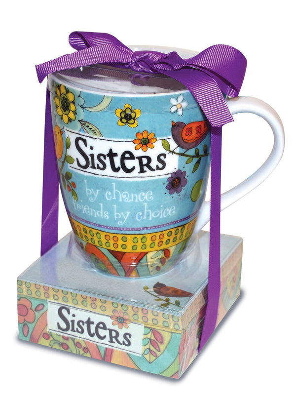 Oak Patch Gifts Relationship Mug & Notepad Giftset: Sister