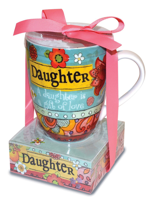 Oak Patch Gifts Relationship Mug & Notepad Giftset: Daughter
