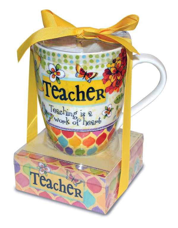 Oak Patch Gifts Relationship Mug & Notepad Giftset: Teacher