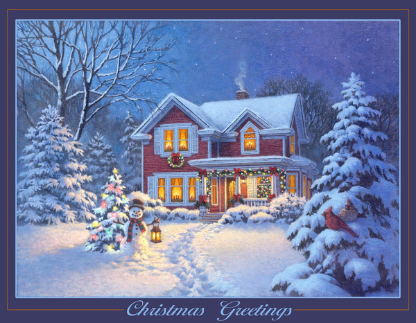 Divinity Boutique Boxed Christmas Cards: Christmas Greetings