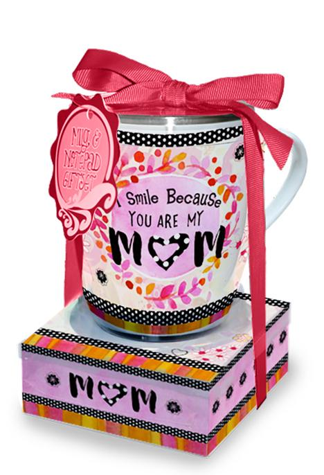 Oak Patch Gifts Mug & Note Stack: Mom