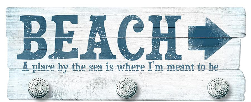 Oak Patch Gifts Coastal: Pallet Art: Beach-A Place By the Sea