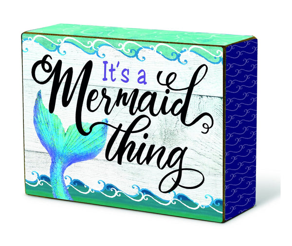 Oak Patch Gifts Mermaid at Heart: Blox: Mermaid Thing