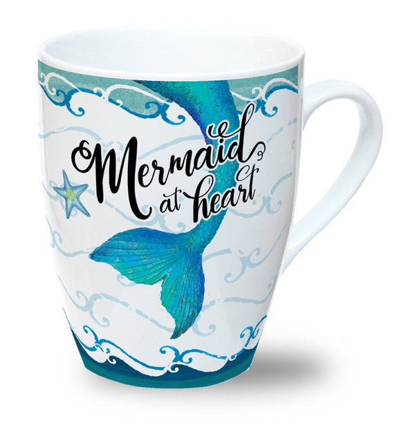 Oak Patch Gifts Mermaid at Heart: Mug Mermaid at Heart