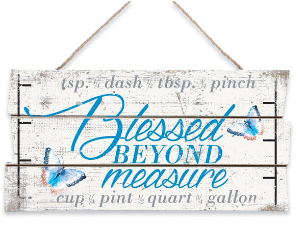 Divinity Boutique Blessed Beyond: Measure Sign