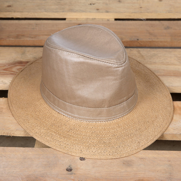 Tan Outback Straw Hat