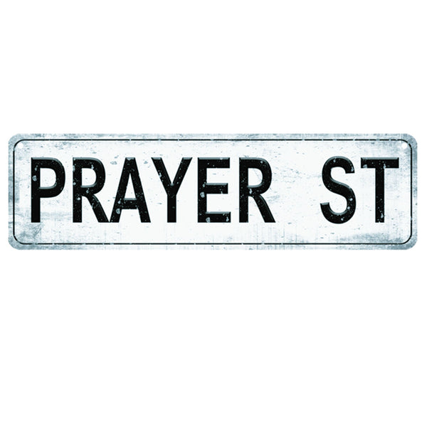 Divinity Boutique Prayer Program: Prayer Street Sign