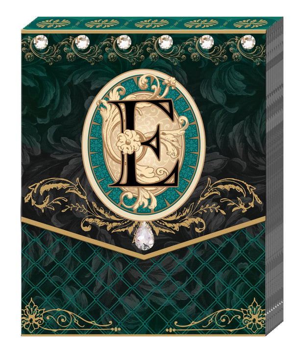 Divinity Boutique Monogram E: Pocket Pad