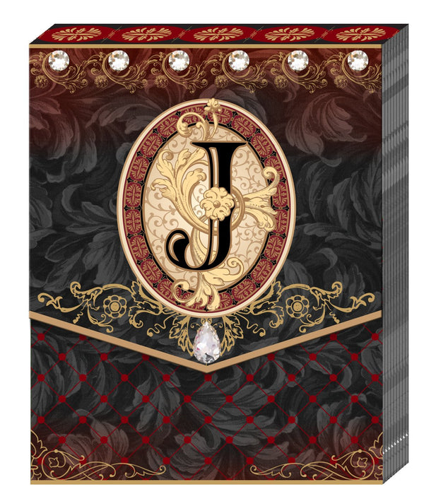 Divinity Boutique Monogram J: Pocket Pad