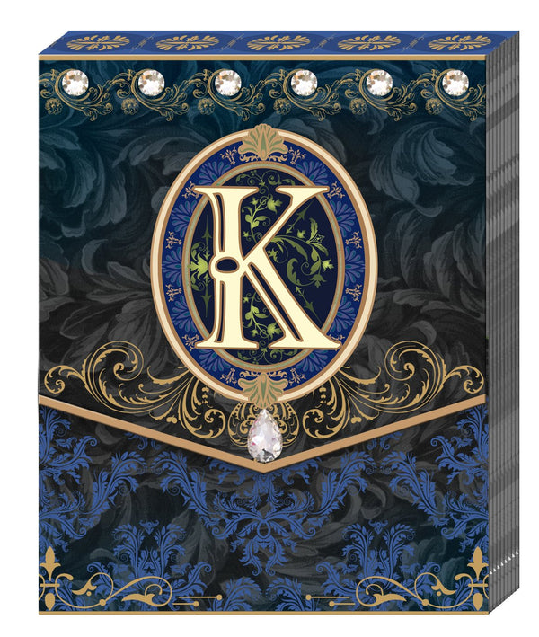 Divinity Boutique Monogram K: Pocket Pad