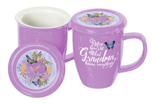 Oak Patch Gifts Cherished Women: Grandma Covered Mug
