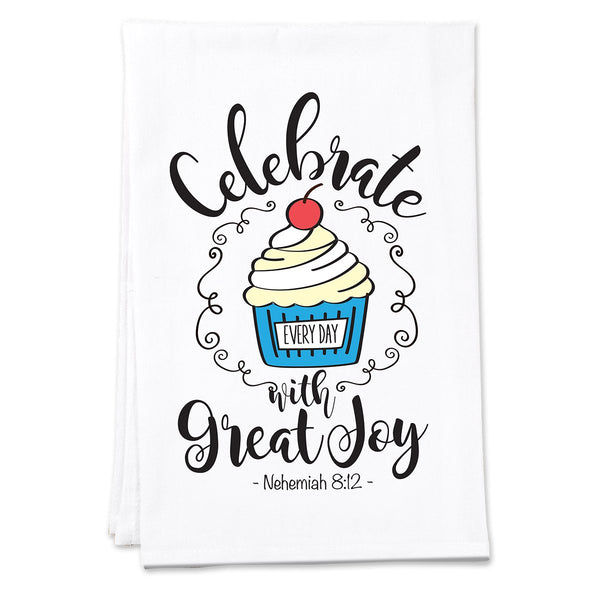 Divinity Boutique Celebrate Cupcake Tea Towel