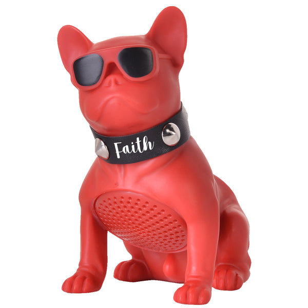 Divinity Boutique Man of God: Bluetooth Bulldog Red