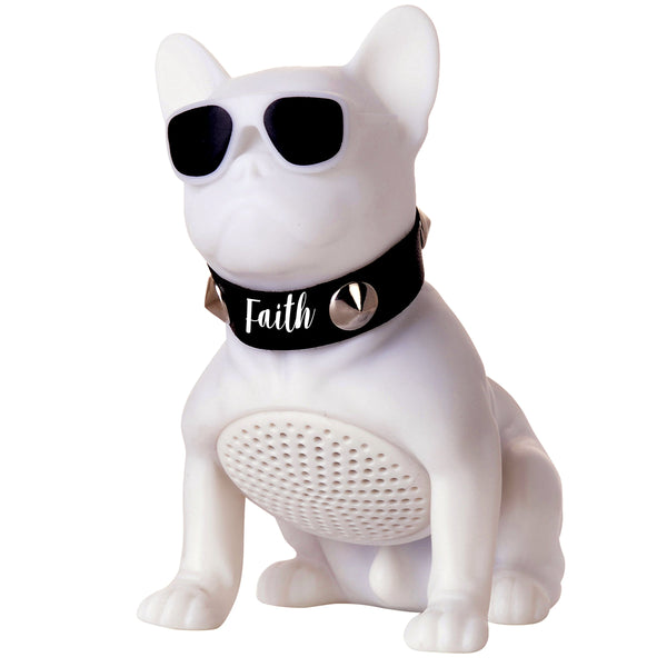 Divinity Boutique Man of God: Bluetooth Bulldog White