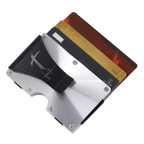 Divinity Boutique Man of God: Stainless Tactical Wallet