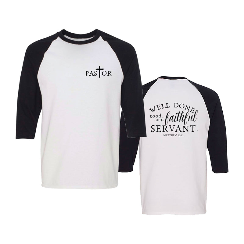 Divinity Boutique Pastor Baseball Tee (XXL)
