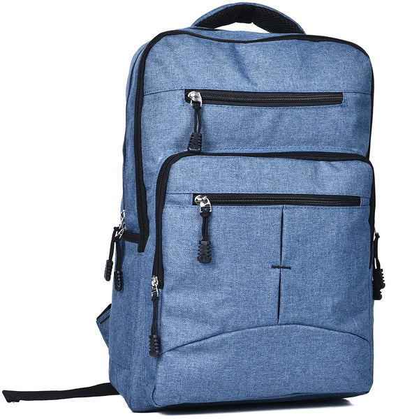 In Transit Backpack Denim Blue by Mad Style Wholesale