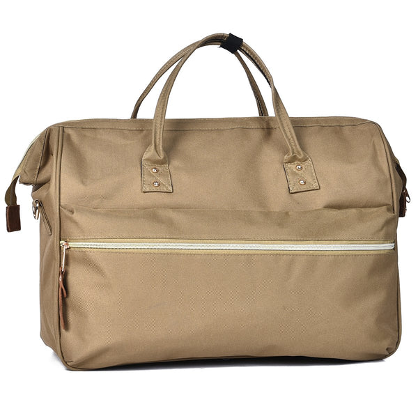 The Brooklyn Duffel Brown by Mad Style Wholesale