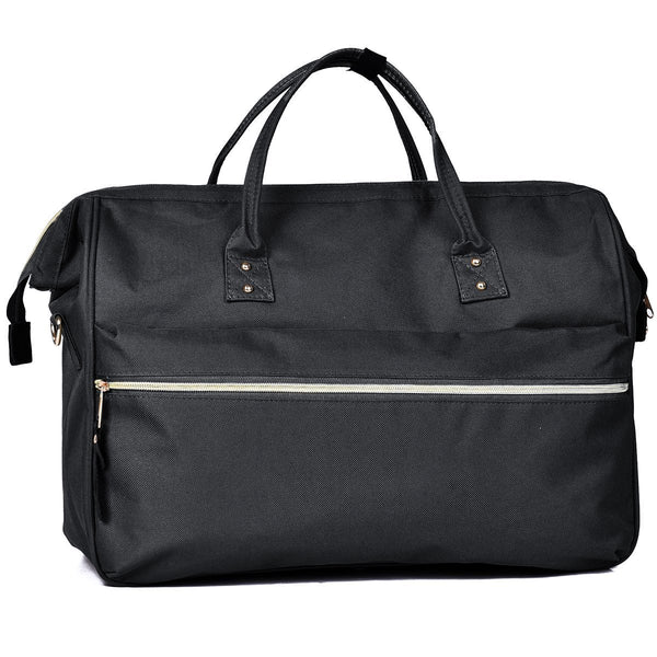 The Brooklyn Duffel Black by Mad Style Wholesale