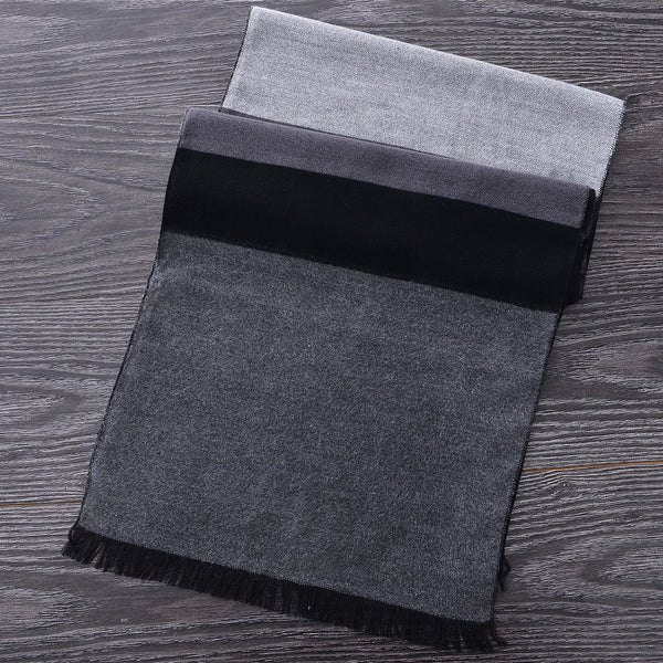 Heritage Scarf Grey/Black by Mad Style Wholesale