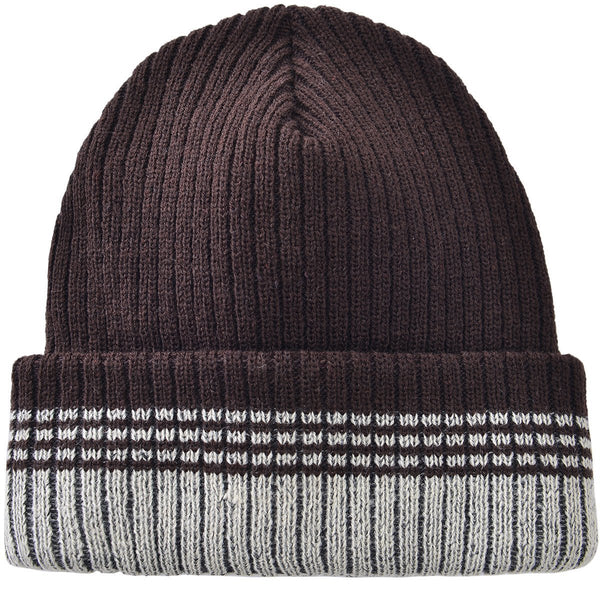 Stripped Toboggan Brown by Mad Style Wholesale