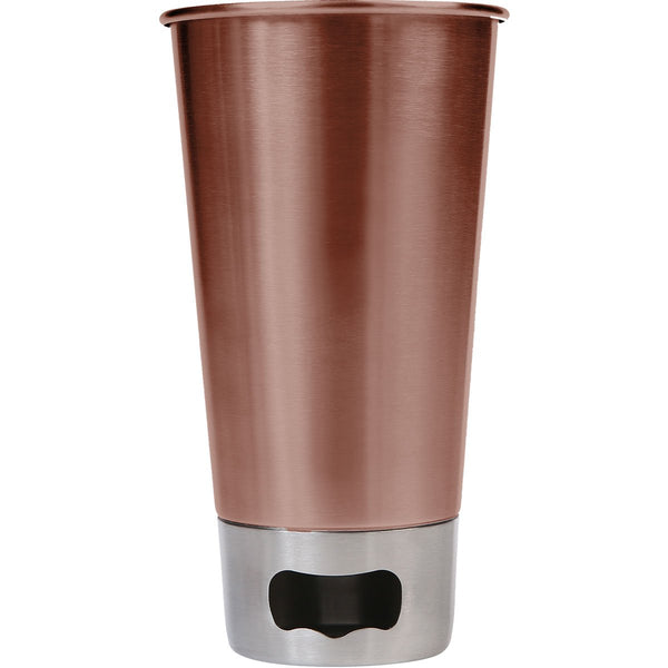 Mad Man Brew Cup w/ Opener-Copper