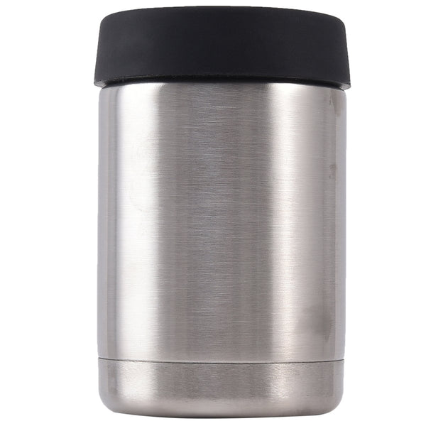 Mad Man Stainless Steel Can/Bottle Holder Silver