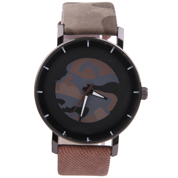 Brown Camo Time Watch