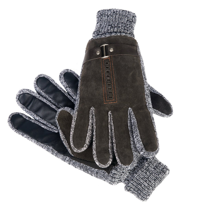 Suede Oscar Gloves Brown by Mad Style Wholesale