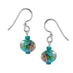 Jody Coyote Wyndale Teal Earring
