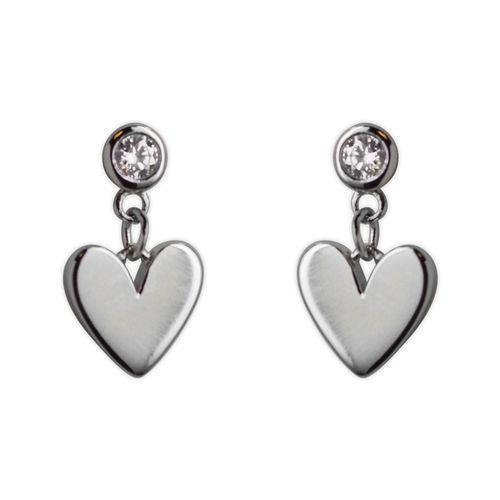 Jody Coyote Guardian Heart Small Heart Post Earring Earring
