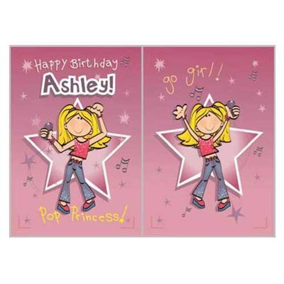 Singing Card- Ashley