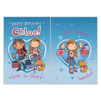 Singing Card- Chloe