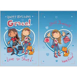 Singing Card- Grace