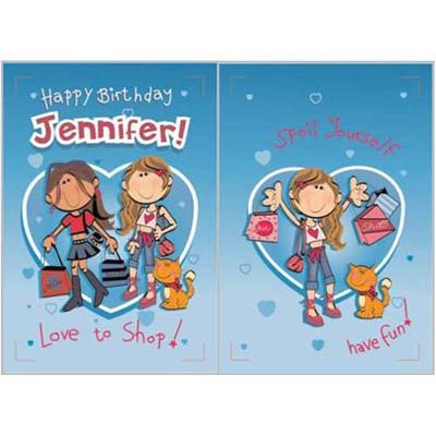 Singing Card- Jennifer